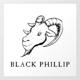 Black Philip III Art Print