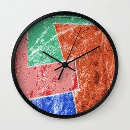 Pop Impro Wall Clock