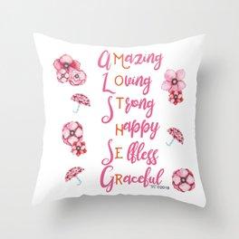 Mother's love Throw Pillow