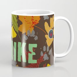 Take a Hike Artwork Fabric Design Coffee Mug