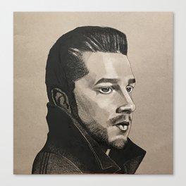 Shia LaBeouf Canvas Print