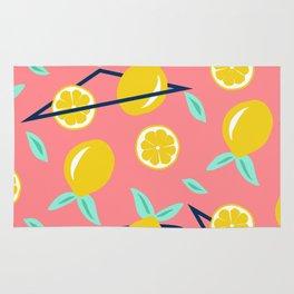 Lemons party #society6 #decor #buyart Rug