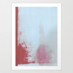 Red Regret Art Print