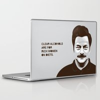 swanson Laptop & iPad Skins featuring Swanson 'Diets' by courtney2k ⚓ design™