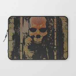 darkness rises when silence dies Laptop Sleeve