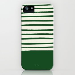 Holiday x Green Stripes iPhone Case