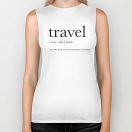 Travel Definition Biker Tank
