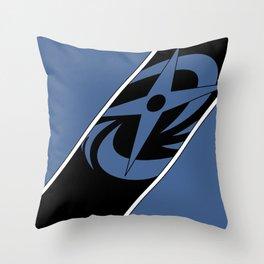 Ninninger Blue Throw Pillow