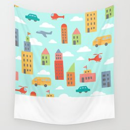 My City Wall Tapestry