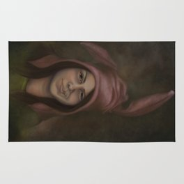 The Girl with the Ears Rug