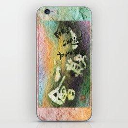 itigoitie iPhone Skin