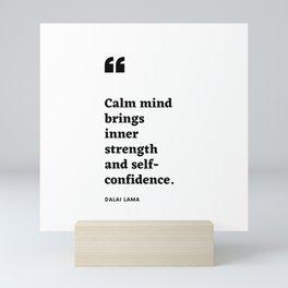 Dalai Lama Quote Mini Art Print