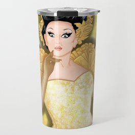 Golden BenDeLaCreme Travel Mug