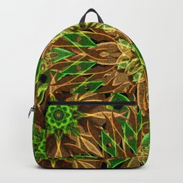 Nature Star Mandala Backpack