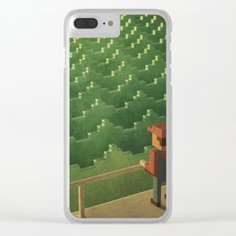 Boulevard of broken games ft. Mario Clear iPhone Case