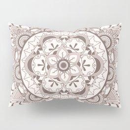 Mandala chocolate Pillow Sham