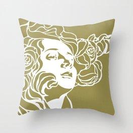 Sacred Spring Throw Pillow