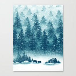 Winter Has Come Canvas Print