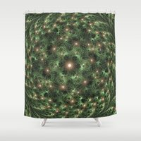 camouflage Shower Curtains featuring Camouflage by Awesome Palette