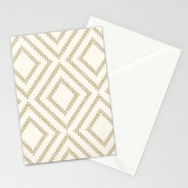 Loom in Cream Stationery Cards