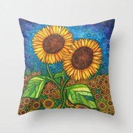 Rachel & Renee Throw Pillow