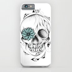 Poetic Wooden Skull iPhone 6s Slim Case