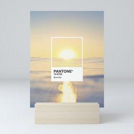 PANTONE SERIES – SUNRISE Mini Art Print