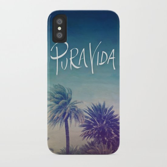 Pura Vida iPhone Case