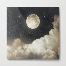 Touch of the moon I Metal Print