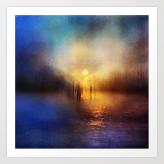 Light Echoes Art Print
