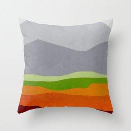 Mountains 10 Throw Pillow