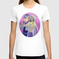 dmmd T-shirts featuring Watch out! Clear and Aoba by Mottinthepot
