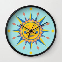 Summer's Joy Wall Clock