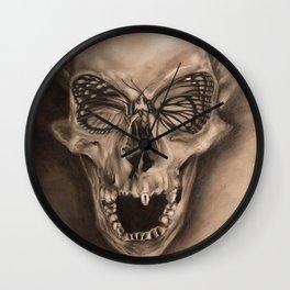 ButterSkull Wall Clock