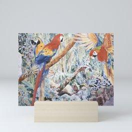 Parrot Jungle Mini Art Print