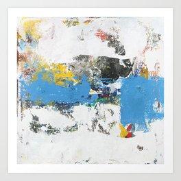 Crow Abstract Art Art Print