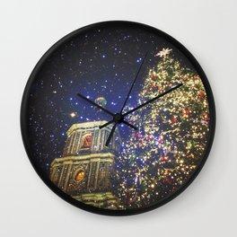 festive greetings ^_^ Wall Clock