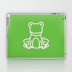Green Frog Laptop & iPad Skin