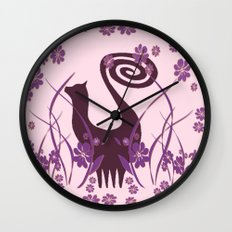 Snooty Garden Wall Clock
