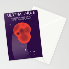 Ultima Thule Space art Stationery Cards