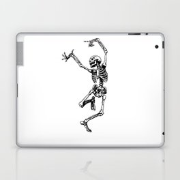 DANCING SKULL Laptop & iPad Skin