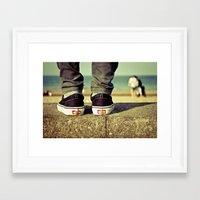 vans Framed Art Prints featuring vans II. by Zsolt Kudar