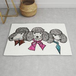 Le Poodles Rug