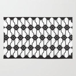 Cat box pattern Rug