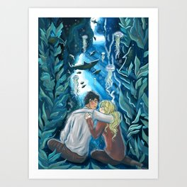 Being Alone With You Art Print