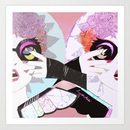 Superstar Art Print