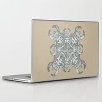 demon Laptop & iPad Skins featuring Demon by Sandeep Barot