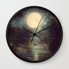 I Wish You Love Me Forever Wall Clock