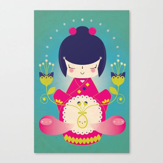 Nacer / Born Canvas Print