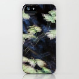 blurred perception of nature #3 iPhone Case